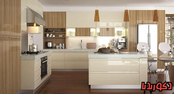 عکس انواع جنس کابینت آشپزخانه