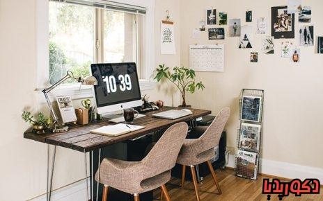 عکس ایده های طراحی اتاق کار کوچک