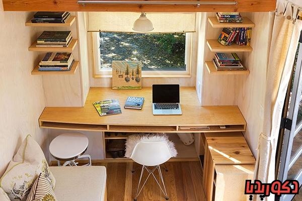 عکس 11 ایده طراحی اتاق کار در منزل