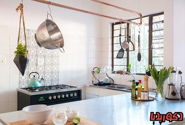 عکس 15 ایده طراحی دکوراسیون آشپزخانه کوچک