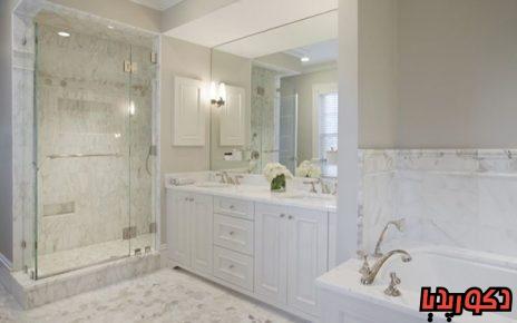 عکس حمام های لوکس با سنگ مرمر
