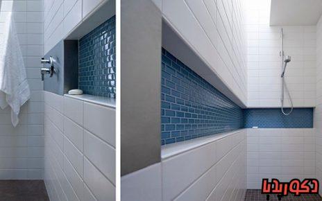 عکس تورفتگی های پرکاربرد در دل دیوار حمام