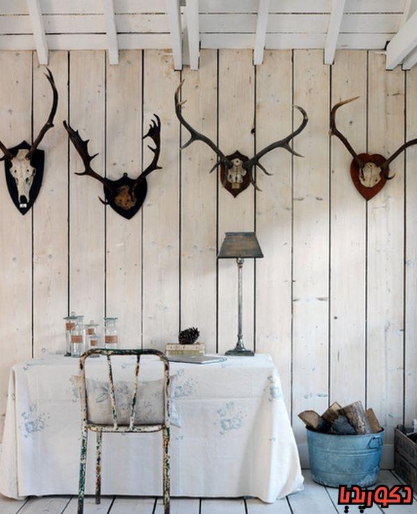عکس ایده های دکوراسیون داخلی به سبک روستیک