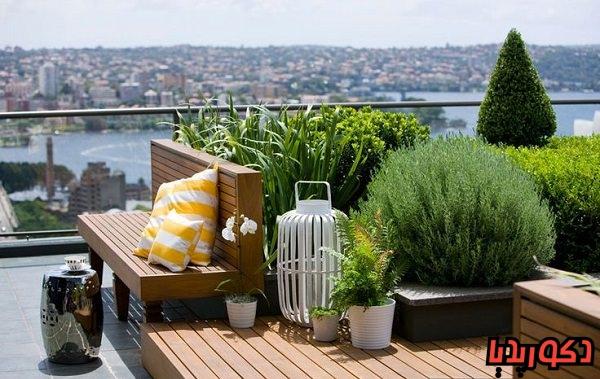 عکس ایده های طراحی بام سبز