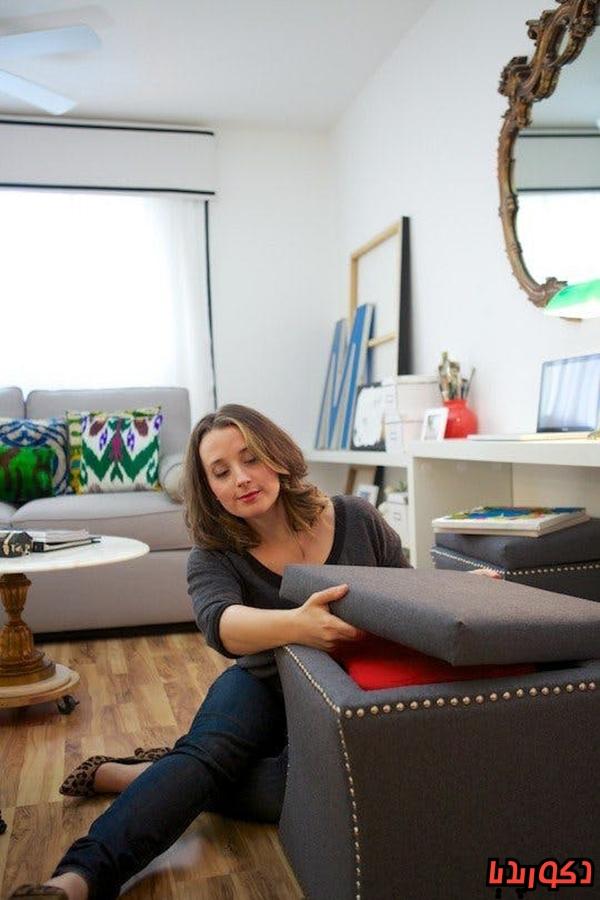 عکس 6 راهکار بهینه سازی فضای خانه های کوچک
